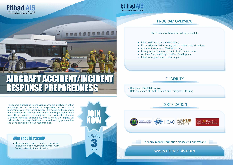 Aircraft Accident-incident Response Prepareddness
