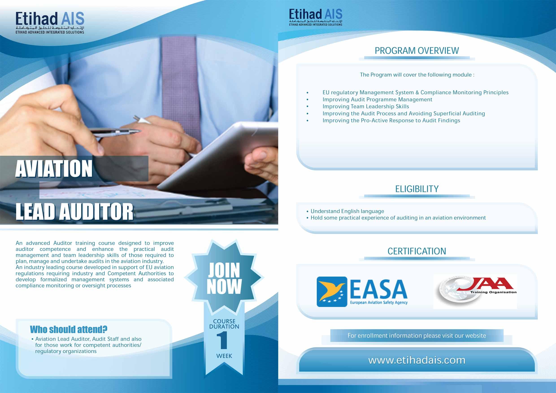 aviation Lead Auditor